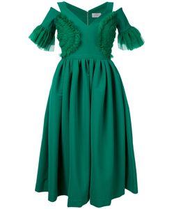 Preen By Thornton Bregazzi   Расклешенное Платье С Вырезными Деталями