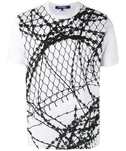 JUNYA WATANABE COMME DES GARCONS | Junya Watanabe Comme Des Garçons Man Wire Print T-Shirt