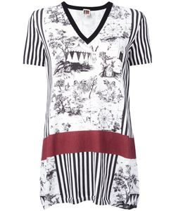 I'm Isola Marras | Multi-Print Knitted T-Shirt Size Medium