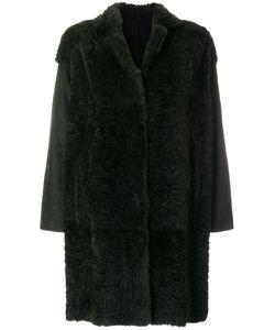 SALVATORE SANTORO | Oversized Flared Sleeve Coat Women Rabbit