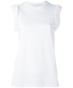Victoria, Victoria Beckham | Victoria Victoria Beckham Sleeve Perforated Detail Blouse Large