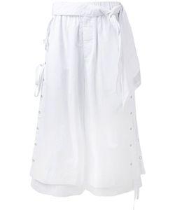 CRAIG GREEN | Layered Lace Detail Shorts Size Large