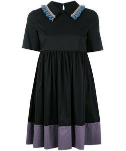 L' Autre Chose | Lautre Chose Embroide Trim Dress 40 Cotton/Polyamide/Spandex/Elastane