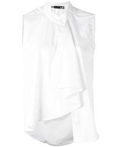 Love Moschino   Draped Blouse 40 Viscose/Polyester/Spandex/Elastane