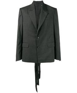 Y / PROJECT   Button Back Blazer