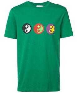 GOSHA RUBCHINSKIY | Yin Yang Print T-Shirt Xs Cotton