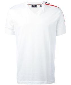 ROSSIGNOL   Striped Trim T-Shirt Size 50