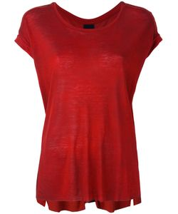 THOM KROM | Round Neck T-Shirt Xs Linen/Flax/Viscose