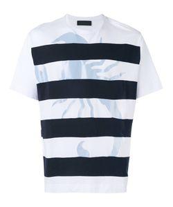 Diesel Black Gold | Striped T-Shirt Size Large