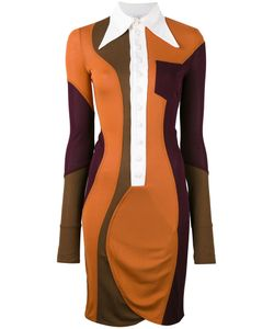 Givenchy | Colour Block Fitted Shirt Dress