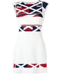 GLORIA COELHO   Printed Shift Dress