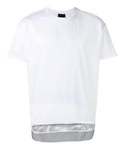 Les Hommes | Mesh Hem T-Shirt