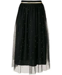 AMUSE | Studded Tulle Midi Skirt Women