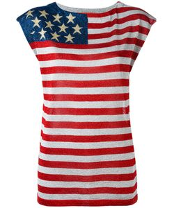 Hilfiger Collection | Stars And Stripes T-Shirt Large Viscose/
