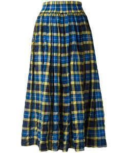 Aspesi   Elasticated Waist Checked Skirt 40