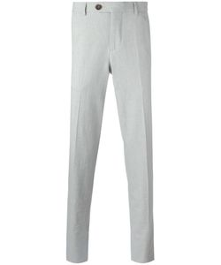 Brunello Cucinelli | Cropped Tailo Trousers 48 Cotton