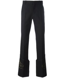 Alexander McQueen | Printed Straight-Leg Trousers 46 Cotton/Wool/Acetate/Viscose