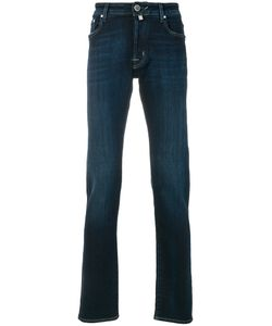 Jacob Cohёn | Contrasting Stitching Jeans Men