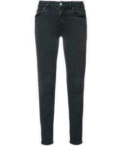 NEUW   Super Skinny Cropped Jeans 27 Cotton/Lyocell/Polyester/Spandex/Elastane