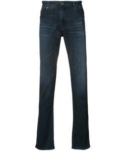 AG JEANS | Straight-Leg Jeans 34 Cotton/Viscose/Polyester/Spandex/Elastane