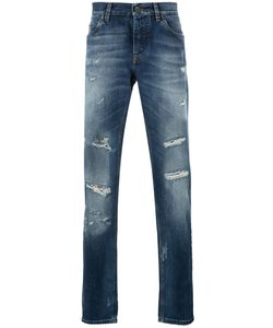 Dolce & Gabbana | Distressed Jeans 48 Cotton