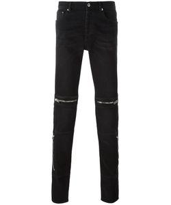 Givenchy | Zip Detail Slim-Fit Jeans 31 Cotton/Spandex/Elastane