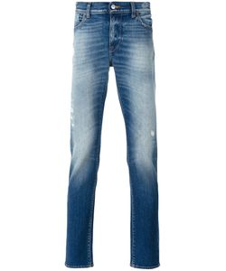 7 for all mankind | Slim-Fit Jeans 34 Cotton/Spandex/Elastane