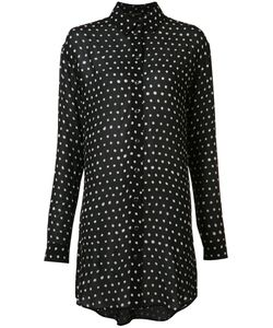 Saint Laurent | Polka Dot Shirt Dress Size 36
