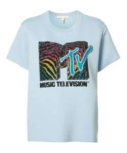 Marc Jacobs | Mtv Branded T-Shirt Small Wool/Tencel/Polyester/Polyamide