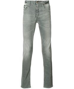 Denham   Straight-Leg Jeans 33/34 Cotton/Polyester/Spandex/Elastane