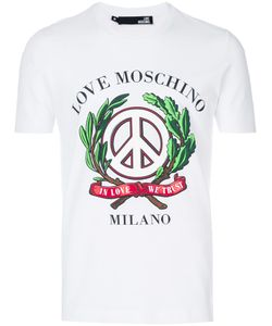 Love Moschino | Футболка С Принтом Peace