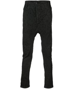 11 BY BORIS BIDJAN SABERI | Skinny Drop-Crotch Trousers Size Small