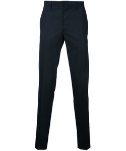 Factotum | Cropped Classic Pants 44 Wool/Polyester