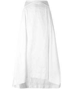 Jil Sander Navy | Fla Skirt 38 Cotton