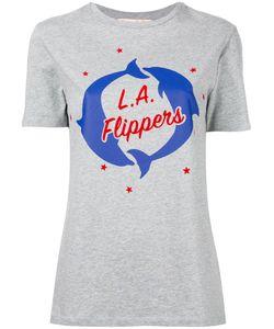 ÊTRE CÉCILE   Dolphins Print T-Shirt
