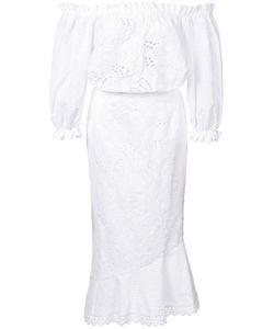 Saloni | Летнее Платье С Открытыми Плечами