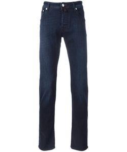 Jacob Cohёn | Jacob Cohen Mid-Rise Straight Jeans 38 Cotton/Spandex/Elastane
