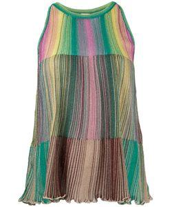 Missoni | M Striped Tank Top Womens Size 44 Viscose/Polyimide/ Fibre