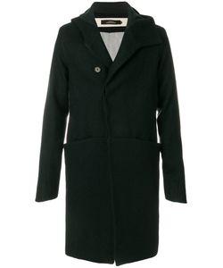 A NEW CROSS | Long Hood Coat Men