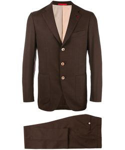 Isaia | Slim-Fit Suit 46 Cupro/Wool