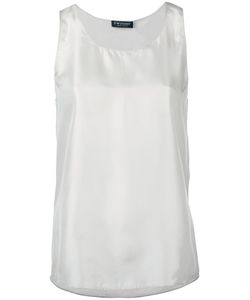 Twin-set | Classic Tank Top Small Silk/Cotton