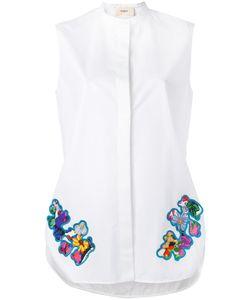 Ports 1961   Рубашка С Цветочным Принтом На Заплатках