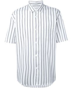 Our Legacy | Striped Shortsleeved Shirt Large Cotton