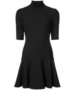Black Halo | Peplum Hem Mini Dress Women