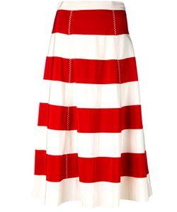 ROSSELLA JARDINI   Striped Panel Skirt