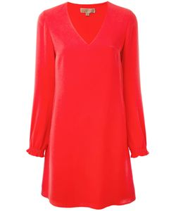 Michael Michael Kors | Longsleeve V-Neck Dress