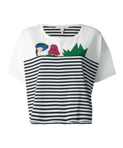 Marc Jacobs | Julie Verhoeven Striped Print T-Shirt