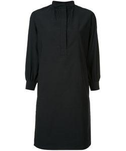 ATLANTIQUE ASCOLI | Mandarin Neck Shirt Dress 2 Cotton/Linen/Flax