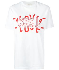 Alix | New York Printed T-Shirt Size Small