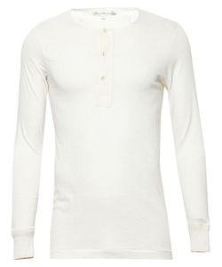 MERZ B. SCHWANEN | Henley Cotton T-Shirt Men